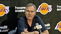 New Lakers coach Mike D'Antoni meets the public
