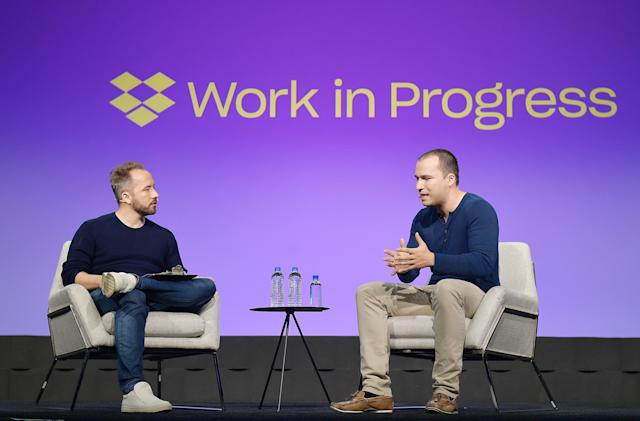 Dropbox was profitable for the first time since going public