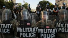 U.S. ups National Guard forces to quell D.C. unrest, readies active duty troops