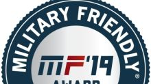 Travelers Named a 2019 Military Friendly® Company