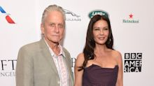 Catherine Zeta-Jones thanks Michael Douglas for 'love and laughter' on 20th wedding anniversary