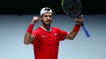 Defending champions Croatia beaten in Davis Cup opener, Italy upset