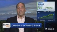 Chegg CEO Dan Rosensweig on earnings beat and tech valuat...