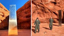 Peculiar twist after mysterious monolith found in desert