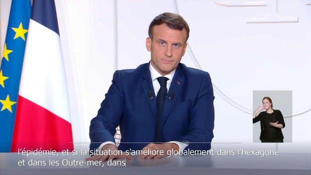 Réouverture des commerces, retour du couvre-feu, Noël: ce qu'il faut retenir des annonces d'Emmanuel Macron