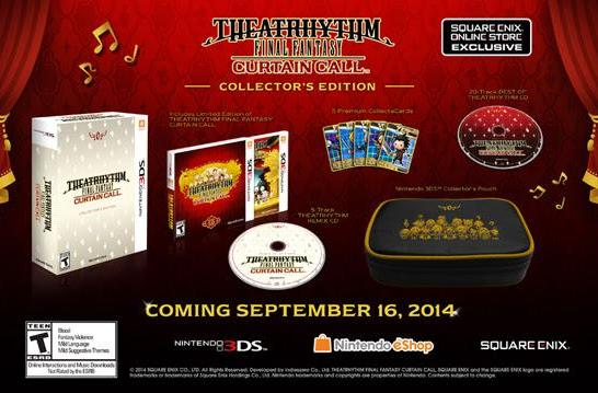Theatrhythm Final Fantasy takes its Curtain Call in September