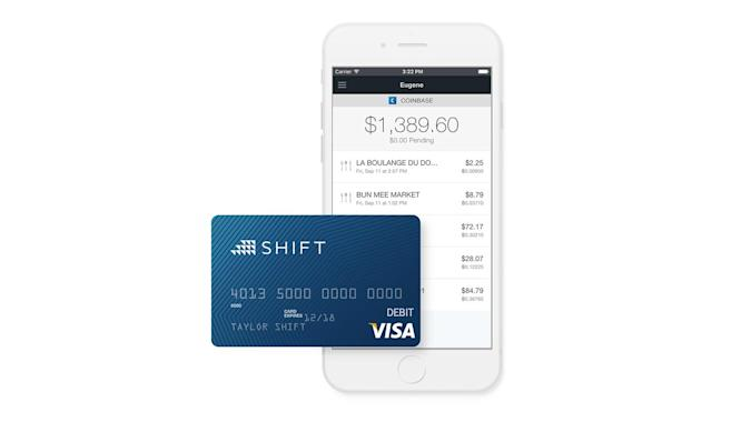 Shift is a debit card for your bitcoin wallet
