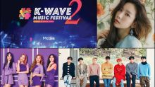 Three more acts announced for K-Wave 2 Music Festival
