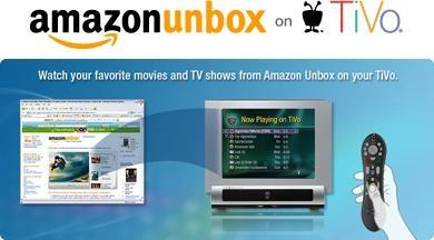 """Amazon's Unbox video download service """"now available"""" on TiVo"""