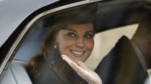 Kate Middleton a donné naissance à un petit garçon de 3,8kg