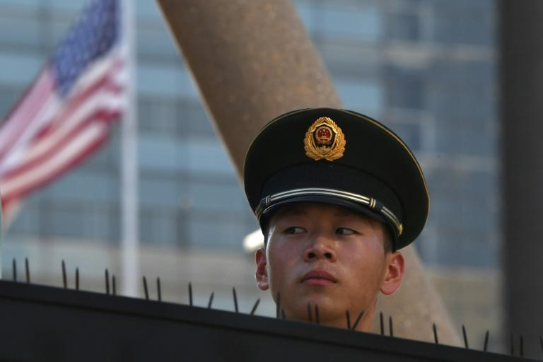 Two Americans detained in east China