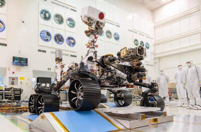 NASA's Mars 2020 rover passes its driving test