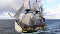 """""""Hermoine"""" makes second voyage from France"""