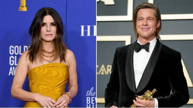 Sandra Bullock and Brad Pitt, who have never done a movie together, are doing a movie together - Yahoo Lifestyle