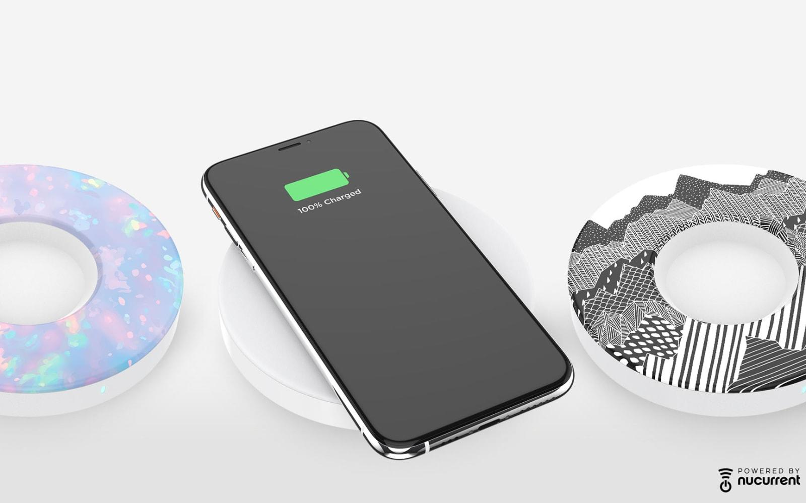 Popsockets Unveils A Wireless Charger That Makes Space For Popgrips Engadget