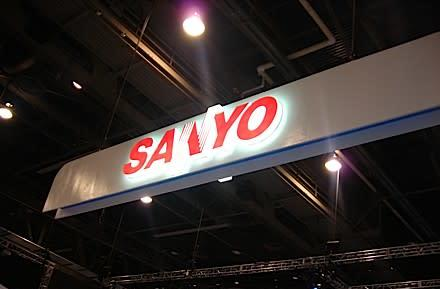 Sanyo booth tour