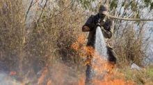 Salles admite que incêndio no Pantanal tomou proporção 'gigantesca'