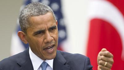 Obama Says He's 'outraged' by IRS Case