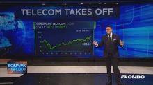 Telecom stocks feeling the love