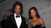 JAY-Z Snatches Man's Phone For Seemingly Trying to Film Beyoncé at Diddy's 50th Birthday Party -- Watch