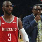 Did Carmelo Anthony accidently cause Rajon Rondo-Chris Paul brawl?