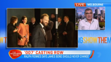 Actor Ralph Fiennes in '007' casting row