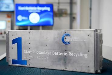 Volkswagen集團開始營運電池回收