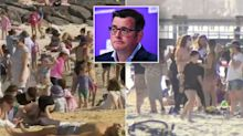 'Very angry': Premier's harsh warning after crowd filmed at Melbourne beach