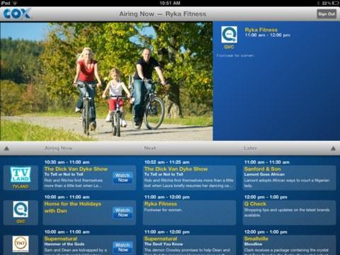 Cox TV Connect app brings more live cable TV streaming to iPads