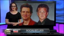 Fox Business host bashes Jim Carrey and Sean Penn for supporting socialism and 'pretending you hate money'