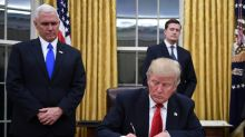 Trump signs executive order against Obamacare health law