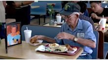 93-Year-Old Georgia Man Dines with Photo of His Late Wife Every Day