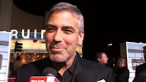 George Clooney Says He Could Be Arrested For an Upcoming Prank on Brad Pitt