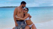 Thaila Ayala e Renato Góes curtem cenário paradisíaco das Ilhas Maldivas na lua de mel