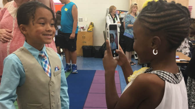 These Photos of Kindergarten Love Are Exactly What We All Need