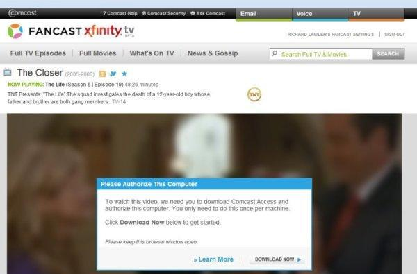 Comcast On Demand Online renamed Fancast Xfinity TV, now streaming nationwide