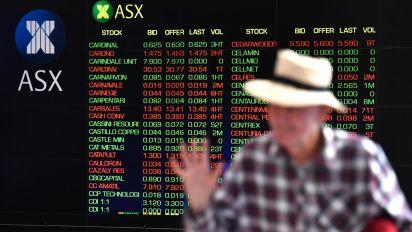 Australian shares lower across the board