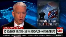 Anderson Cooper Calls Out GOP Candidates for Dodging Confederate Flag Issue