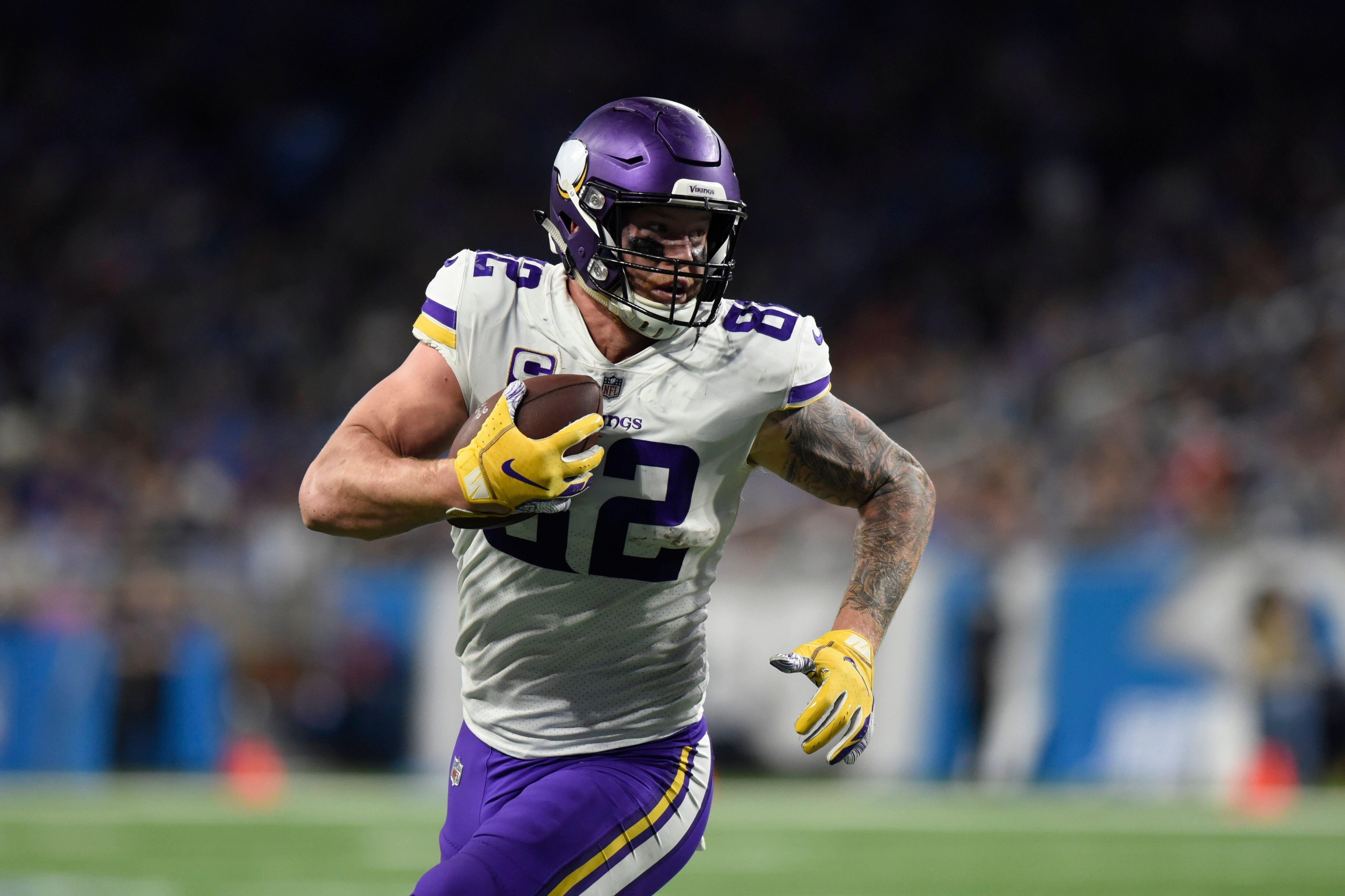best website 38f34 9d8e7 Kyle Rudolph hopes to stay in Minnesota, wants contract ...