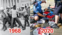 Photos show how the Black Lives Matter protests compare to civil rights demonstrations in the 1960s