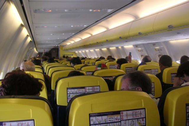 """Thought a naughty child kicking your chair was bad? In August 2013, <a href=""""http://travel.aol.co.uk/2013/08/05/ryanair-flight-passengers-yobs-riot-prestwick-to-ibiza/"""" target=""""_blank"""">30 adults created the flight from hell when they ran riot on a Ryanair flight</a><span class=""""aol-slideshow-slide-caption-link-external core-icon-external-link""""></span> from Prestwick to Ibiza, swearing, threatening and even sexually harassing crew in front of other holidaymakers, including families with young children. The men were warned by police about their behaviour before boarding but this didn't stop their drunken rampage, which saw them shouting and jumping on the seats too."""
