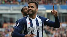 Robson-Kanu nets winner for West Brom but is then sent off