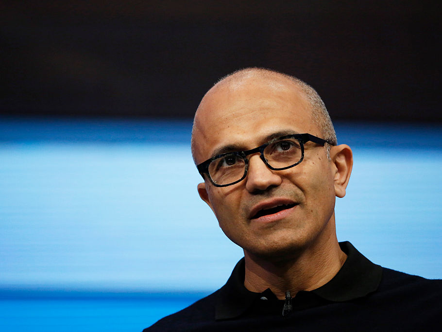 When CEO Satya Nadella joined Microsoft, he started diffusing its toxic culture by handing each of his execs a 15-year-old book by a psychologist (MSFT)