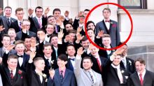 Teen Refuses To Give Nazi Salute In Class Photo