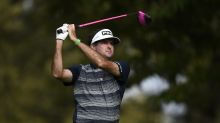 "Bubba Watson switches to Ping G425 driver with ""BUBBA"" written in pink across the crown"