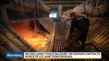 Rio Tinto Battles Fallout From Rusal Sanctions