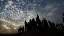 Israel hits Gaza after rocket fire, three wounded