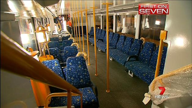 Controversial train seat trial