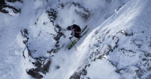 Ski - FWT - Freeride World Tour 2017 : Le run de Léo Slemett sur l'Xtreme Verbier