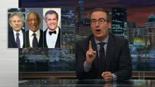 John Oliver rips Academy for kicking out Weinstein but not Cosby, Polanski, or Gibson